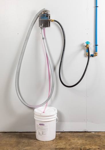 High Flow Single Dispensing System